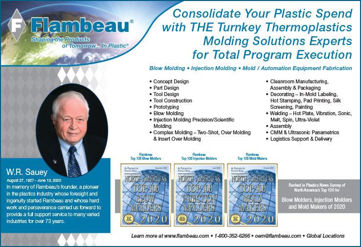 Flambeau Plastics News Ad